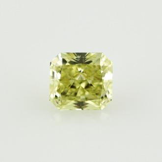 Fancy Greenish Yellow, 1.02 carat, VVS2
