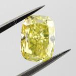 Intense Greenish Yellow, 1.41ct, VVS2
