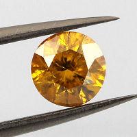 Fancy Intense Orange Yellow, 1.00 carat