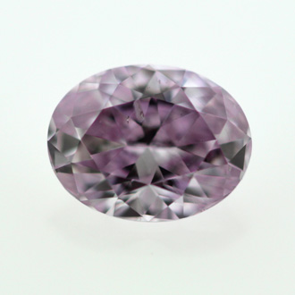 Fancy Intense Pink Purple, 0.53 carat, SI2