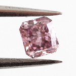 Fancy Intense Pink Purple, 0.12 carat