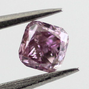 Fancy Intense Pink Purple, 0.15 carat, I1