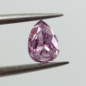 Fancy Intense Pink Purple, 0.18 carat