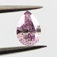 Fancy Intense Pink Purple, 0.14 carat