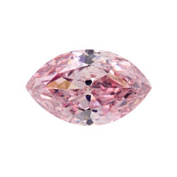 Fancy Intense Pink, 0.25 carat, SI1