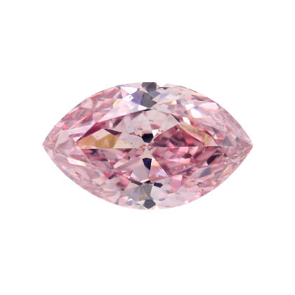 Fancy Intense Pink Diamond, Marquise, 0.25 carat, SI1