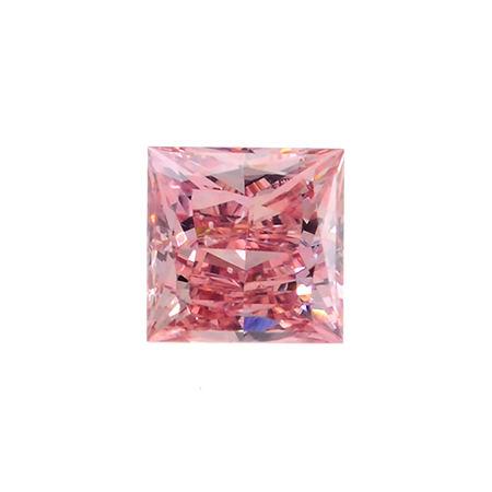 Fancy Intense Pink Diamond, Princess, 0.27 carat, SI2
