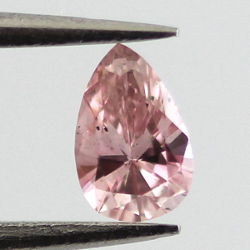 Fancy Intense Pink, 0.12 carat