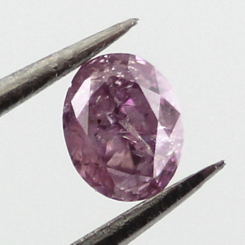 Pink Diamond Fancy Intense Purple Pink 0 18 Carat Id 40253