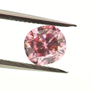 Fancy Intense Purplish Pink, 0.47 carat