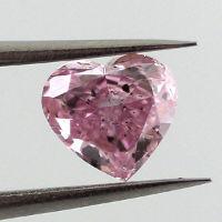 Fancy Intense Purplish Pink, 0.44 carat
