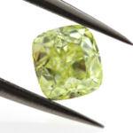 Fancy Intense Yellow Green, 0.71ct, SI1