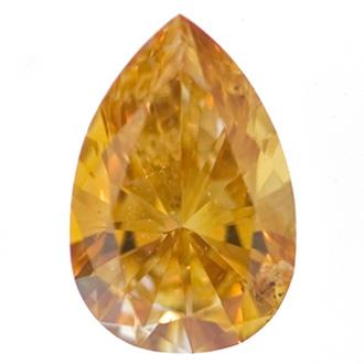 Fancy Intense Yellow Orange, 1.81 carat