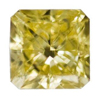 Fancy Intense Yellow, 0.73 carat, VS1