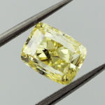 Fancy Intense Yellow, 1.20 carat, VS2
