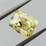 Fancy Intense Yellow, 1.20 carat, VS2