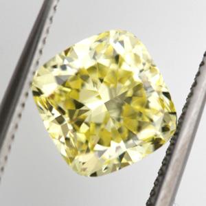 Fancy Intense Yellow, 1.39 carat, VS2