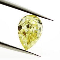 Fancy Intense Yellow, 1.00 carat, VS2
