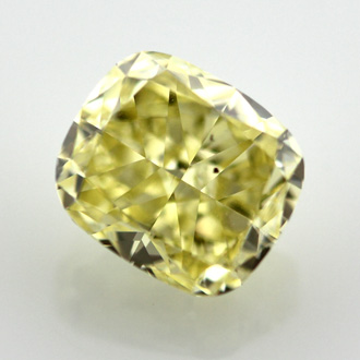 Fancy Intense Yellow, 2.02 carat, SI1