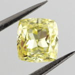 Fancy Intense Yellow, 0.47 carat, IF