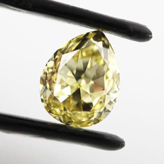 Fancy Intense Yellow, 1.76 carat, VS2