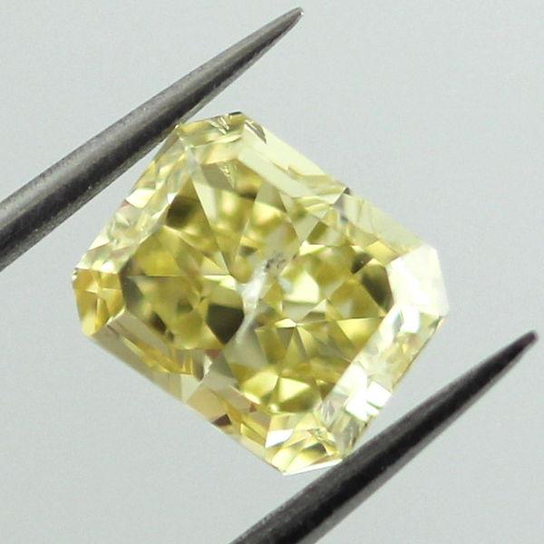 Fancy Intense Yellow Diamond, Radiant, 1.51 carat