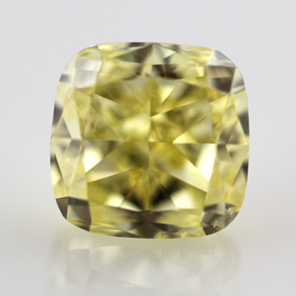 Fancy Intense Yellow, 1.72 carat, SI2