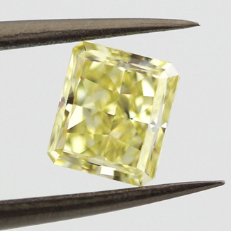 Fancy Intense Yellow, 1.41 carat, VS1