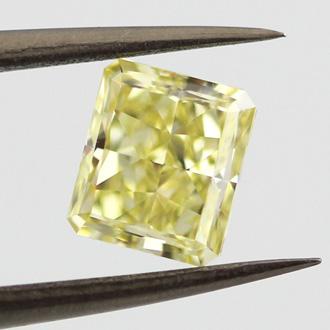 Fancy Intense Yellow, 1.41 carat, VS1