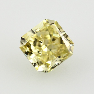 Fancy Intense Yellow Diamond, Radiant, 0.79 carat, VS1 - B