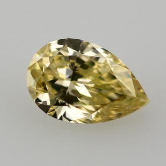 Fancy Intense Yellow, 0.52 carat, VS1