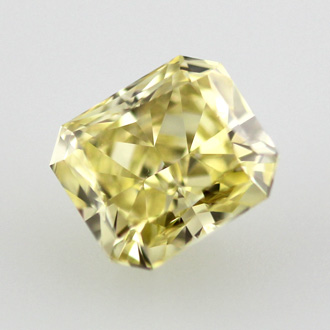 Fancy Intense Yellow Diamond, Radiant, 0.70 carat, VS2