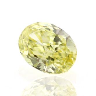 Fancy Intense Yellow, 0.70 carat, VS1