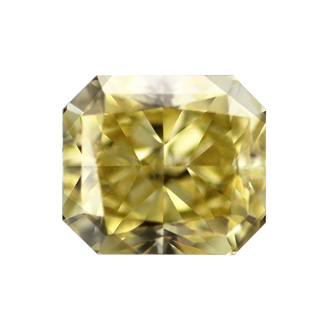 Fancy Intense Yellow, 0.50 carat, VS1