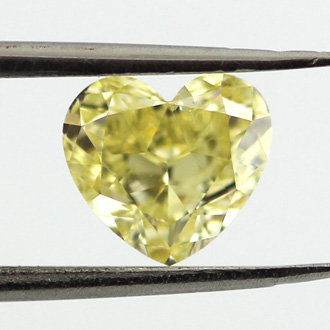 Fancy Intense Yellow, 1.01 carat, SI2
