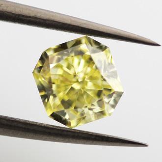 Fancy Intense Yellow, 1.07 carat, SI1
