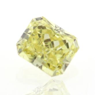 Fancy Intense Yellow, 0.46 carat, SI1