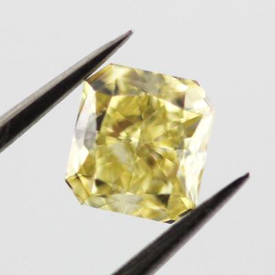 Fancy Intense Yellow, 0.50 carat, VS2