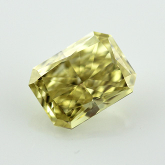 Fancy Intense Yellow, 2.23 carat, VVS2