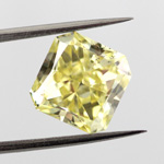 Fancy Intense Yellow, 4.06 carat, SI2