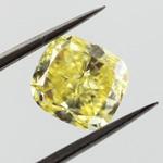 Fancy Intense Yellow, 1.67 carat, VVS1