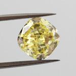 Fancy Intense Yellow, 2.04 carat, VS2