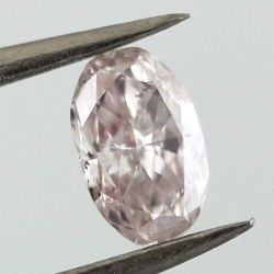 Fancy Light Brown Pink, 0.53 carat