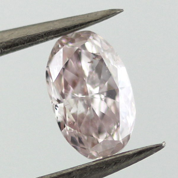 Fancy Light Brown Pink Diamond, Oval, 0.53 carat