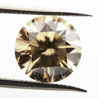 Fancy Light Brown, 2.02 carat, SI2