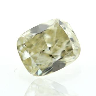 Fancy Light Brown Diamond, Cushion, 0.91 carat, VS2