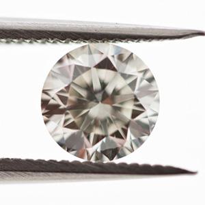 Fancy Light Gray Diamond, Round, 0.57 carat, VS2