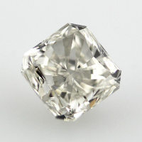 Fancy Light Gray Diamond, Radiant Cut