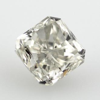 Fancy Light Gray Diamond, Radiant, 1.91 carat, SI2