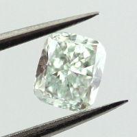 Fancy Light Green, 0.42 carat, VS2
